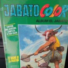 """Tebeos: JABATO COLOR. AVENTURA: """"EL SIGNO DE LA PANTERA"""" . TAPA DURA. NUEVO. PRECINTADO. Lote 295519283"""