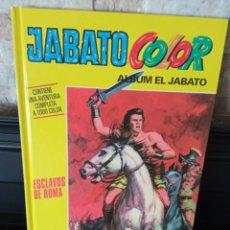 """Tebeos: JABATO COLOR. AVENTURA: """"ESCLAVOS DE ROMA"""" . TAPA DURA. COMO NUEVO.. Lote 295520153"""
