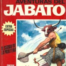 Tebeos: JABATO EXTRA ESPECIAL 8: EL SIGNO DE LA PANTERA, 1970, BRUGUERA, BUEN ESTADO. Lote 295520258
