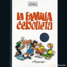 Tebeos: CLASICOS DEL HUMOR. EDICION COLECCIONISTA. LA FAMILIA CEBOLLETA. MANUEL VAZQUEZ. RBA.. Lote 295520538