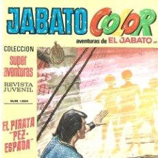 Tebeos: JABATO COLOR 172: EL PIRATA PEZ-ESPADA, 1973, BRUGUERA, BUEN ESTADO. Lote 295520608