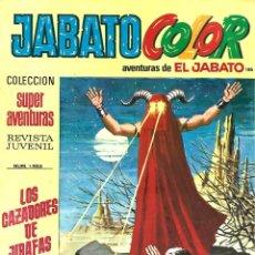Tebeos: JABATO COLOR 186: LOS CAZADORES DE JIRAFAS, 1973, BRUGUERA, BUEN ESTADO. Lote 295521083