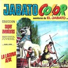 Tebeos: JABATO COLOR 189: LA LAGUNA AZUL, 1973, BRUGUERA, BUEN ESTADO. Lote 295521448