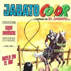 Tebeos: JABATO COLOR 190: DUELO EN EL RIO, 1973, BRUGUERA, BUEN ESTADO. Lote 295521733