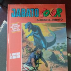 """Tebeos: JABATO COLOR. AVENTURA: """"EL MONSTRUO ATERRADOR"""" . TAPA DURA. COMO NUEVO. PRECINTADO.. Lote 295521898"""