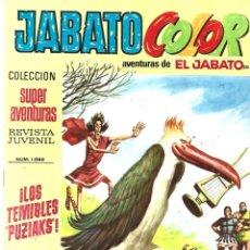 Tebeos: JABATO COLOR 206: LOS TEMIBLES PUZIAKS, 1973, BRUGUERA, BUEN ESTADO. Lote 295522483