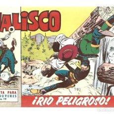 Tebeos: JALISCO 19: RIO PELIGROSO, 1964, BRUGUERA, MUY BUEN ESTADO. Lote 295522813