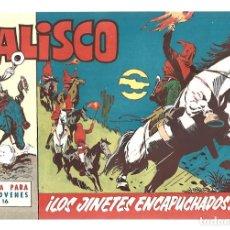 Tebeos: JALISCO 16: LOS JINETES ENCAPUCHADOS, 1964, BRUGUERA, MUY BUEN ESTADO. Lote 295523033