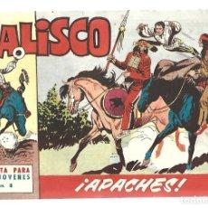 Tebeos: JALISCO 8: APACHES, 1964, BRUGUERA, MUY BUEN ESTADO. Lote 295523233