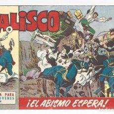Tebeos: JALISCO 4: EL ABISMO ESPERA, 1964, BRUGUERA, MUY BUEN ESTADO. Lote 295523588