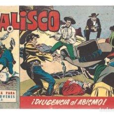 Tebeos: JALISCO 3: DILIGENCIA AL ABISMO, 1963, BRUGUERA, MUY BUEN ESTADO. Lote 295523828