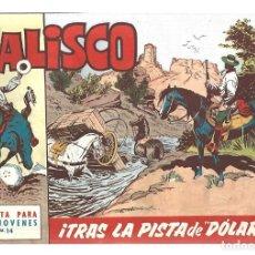 Tebeos: JALISCO 14: TRAS LA PISTA DE DOLAR, 1964, BRUGUERA, MUY BUEN ESTADO. Lote 295524048