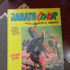 """Tebeos: JABATO COLOR. AVENTURA: """"LOS SICARIOS DE KIRO"""" . TAPA DURA. COMO NUEVO.PRECINTADO.. Lote 295524353"""