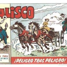 Tebeos: JALISCO 15: PELIGRO TRAS PELIGRO 1964, BRUGUERA, MUY BUEN ESTADO. Lote 295524553