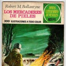 Tebeos: JOYAS LITERARIAS Nº 86 (BRUGUERA 1ª EDICION 1973) LOS MERCADERES DE PIELES.. Lote 295524688