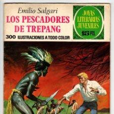 Tebeos: JOYAS LITERARIAS Nº 85 (BRUGUERA 1ª EDICION 1973) LOS PESCADORES DE TREPANG.. Lote 295524813