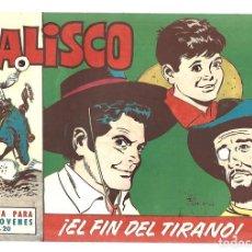 Tebeos: JALISCO 20: EL FIN DEL TIRANO, 1964, BRUGUERA, MUY BUEN ESTADO. Lote 295524933