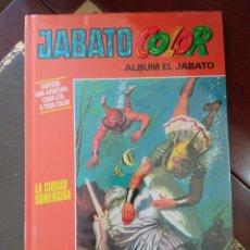 """Tebeos: JABATO COLOR. AVENTURA: """"LA CIUDAD SUMERGIDA"""" . TAPA DURA. COMO NUEVO. PRECINTADO.. Lote 295525033"""