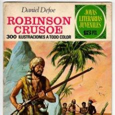 Tebeos: JOYAS LITERARIAS Nº 53 (BRUGUERA 1972) ROBINSON CRUSOE.. Lote 295525128