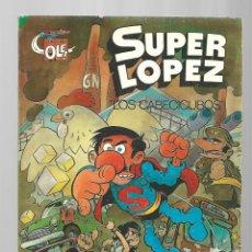 Tebeos: SUPER LÓPEZ 7: LOS CABECICUBOS, 1983, BRUGUERA, PRIMERA EDICIÓN, BUEN ESTADO. Lote 295525238