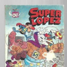 Tebeos: SUPER LÓPEZ 3: TODOS CONTRA UNO, UNO CONTRA TODOS, 1981, BRUGUERA, PRIMERA EDICIÓN, MUY BUEN ESTADO. Lote 295525523