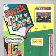 Tebeos: SUPE ZIPI Y ZAPE 113, 1982, BRUGUERA. CONTIENE FICHAS. Lote 295525923