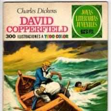 Tebeos: JOYAS LITERARIAS Nº 8 (BRUGUERA 1ª EDICION 1970) DAVID COPPERFIELD.. Lote 295526008
