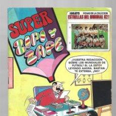 Tebeos: SUPER ZIPI Y ZAPE 113, 1982, BRUGUERA, MUY BUEN ESTADO. CONTIENE FICHAS. Lote 295526198