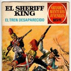 Tebeos: GRANDES AVENTURAS JUVENILES Nº 6 SHERIFF KING (BRUGUERA 1ª EDICION 1971) EL TREN DESAPARECIDO.. Lote 295526343