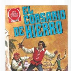 Tebeos: EL CORSARIO DE HIERRO 54: LOS BUITRES DEL MEDITERRANEO, 1980, BRUGUERA, PRIMERA EDICIÓN, MUY BUEN ES. Lote 295526448