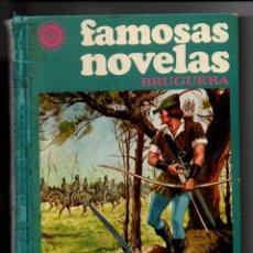 Tebeos: FAMOSAS NOVELAS. TOMO X. EDITORIAL BRUGUERA, 1ª EDICION 1978. Lote 295533328