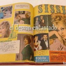 Tebeos: REVISTA FEMENINA SISSI (BRUGUERA). TOMO ENCUADERNADO CON 48 REVISTAS CORRELATIVAS. (Nº 106 A Nº 153). Lote 295796333