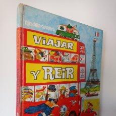 Tebeos: VIAJAR Y REIR - RICHARD SCARRY - BRUGUERA. Lote 295826668