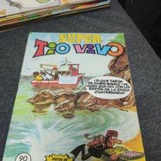 Tebeos: SUPER TIO VIVO 129 !!! DE KIOSKO!!! CONTIENE POSTER MORTADELO. Lote 295840058