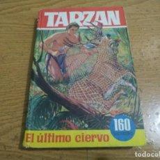 Tebeos: BRUGUERA TARZAN 33 EL ULTIMO CIERVO. Lote 295923463