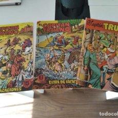 """Tebeos: LOTE """" CAPITAN TRUENO"""" EXTRAS: 1958-1964-1965.-BRUGUERA.-. Lote 295955983"""