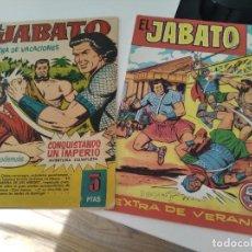 """Tebeos: LOTE """" EL JABATO"""" 2 EXTRAS.- 1958-1961.-. Lote 295957663"""