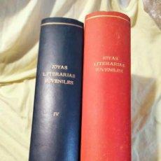 Tebeos: JOYAS LITERARIAS JUVENILES TOMOS 1 Y 4 SERIE VERDE - 1970 EDITORIAL BRUGUERA. Lote 295987388