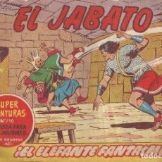 Tebeos: EL JABATO Nº 226 - EL ELEFANTE FANTASMA. Lote 296576478