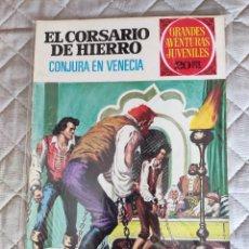 Tebeos: EL CORSARIO DE HIERRO Nº 65 1ª ÉPOCA 1975 BRUGUERA. Lote 296686778