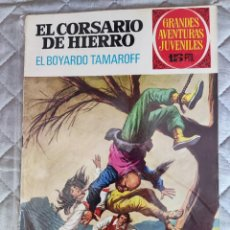 Tebeos: EL CORSARIO DE HIERRO Nº 37 1ª ÉPOCA 1972 BRUGUERA. Lote 296688218