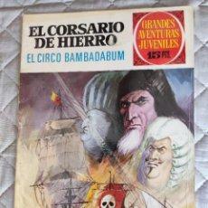 Tebeos: EL CORSARIO DE HIERRO Nº 25 1ª ÉPOCA 1972 BRUGUERA. Lote 296688883