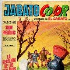 Tebeos: JABATO COLOR Nº 1496. LA REBELION DE LOS ESCLAVOS. COLECCION SUPER AVENTURAS Nº 158. (8 PTAS). Lote 296718153