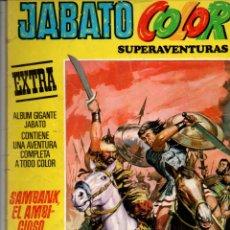 Tebeos: JABATO COLOR. SUPERAVENTURAS EXTRA Nº 28. SAMBANK, EL AMBICIOSO. SEGUNDA E 1976POCA.. Lote 296718858