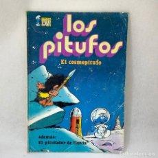 Tebeos: LOS PITUFOS - EL COSMOPITUFO , ADEMÁS: EL PITUFADOR DE LLUIVIA - EDITORIAL BRUGUERA S.A. - 1979. Lote 297015113