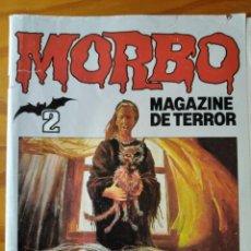 Tebeos: MORBO, MAGAZINE DE TERROR Nº 2. ED. BRUGUERA. Lote 297085778