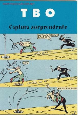 TBO : CAPTURA SORPRENDENTE (Tebeos y Comics - Buigas - TBO)
