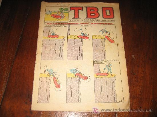 TBO Nº 245 (Tebeos y Comics - Buigas - TBO)