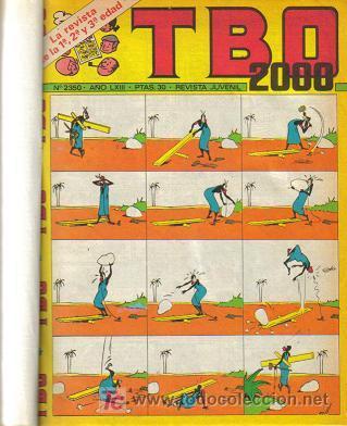 Tebeos: TBO 2000 TOMO ENCUADERNADO ( BUIGAS ) ORIGINAL - Foto 5 - 26703469