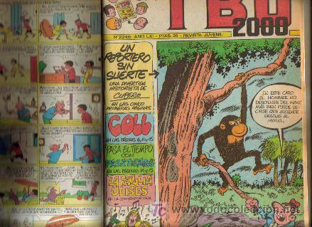 Tebeos: TBO 2000 TOMO ENCUADERNADO ( BUIGAS ) ORIGINAL - Foto 6 - 26703469